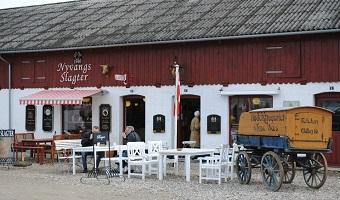 Slagteren i Andelslandsbyen Nyvang