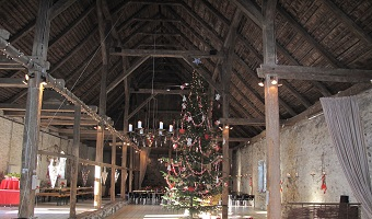 Juletræsarrangement i Laden