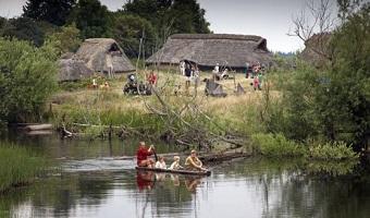Rotur ned langs åen i Sagnlandet Lejre