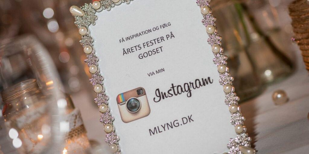 Fotoramme med perler og tip til Instagram