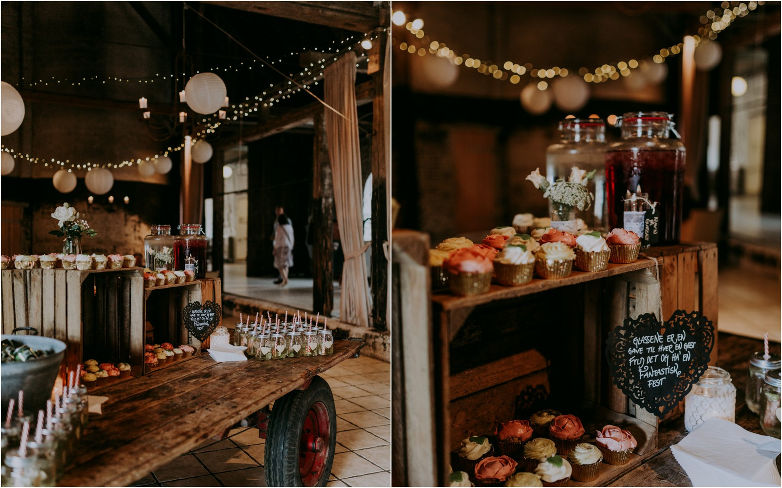 Reception bryllup