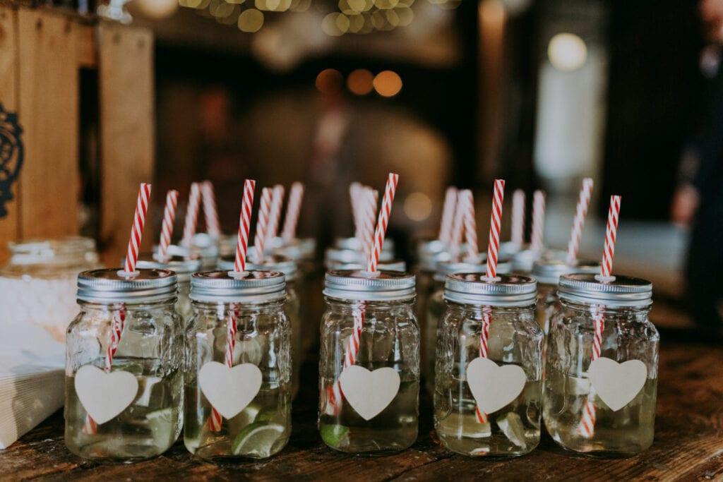 Velkomstdrink bryllup