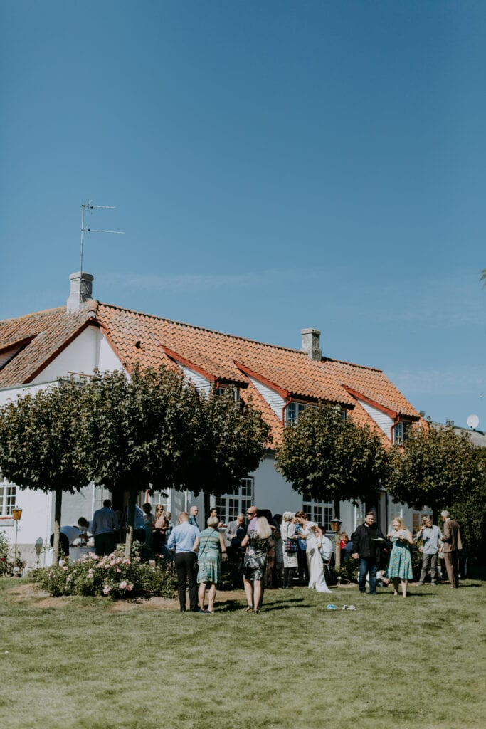 Festlokale med park