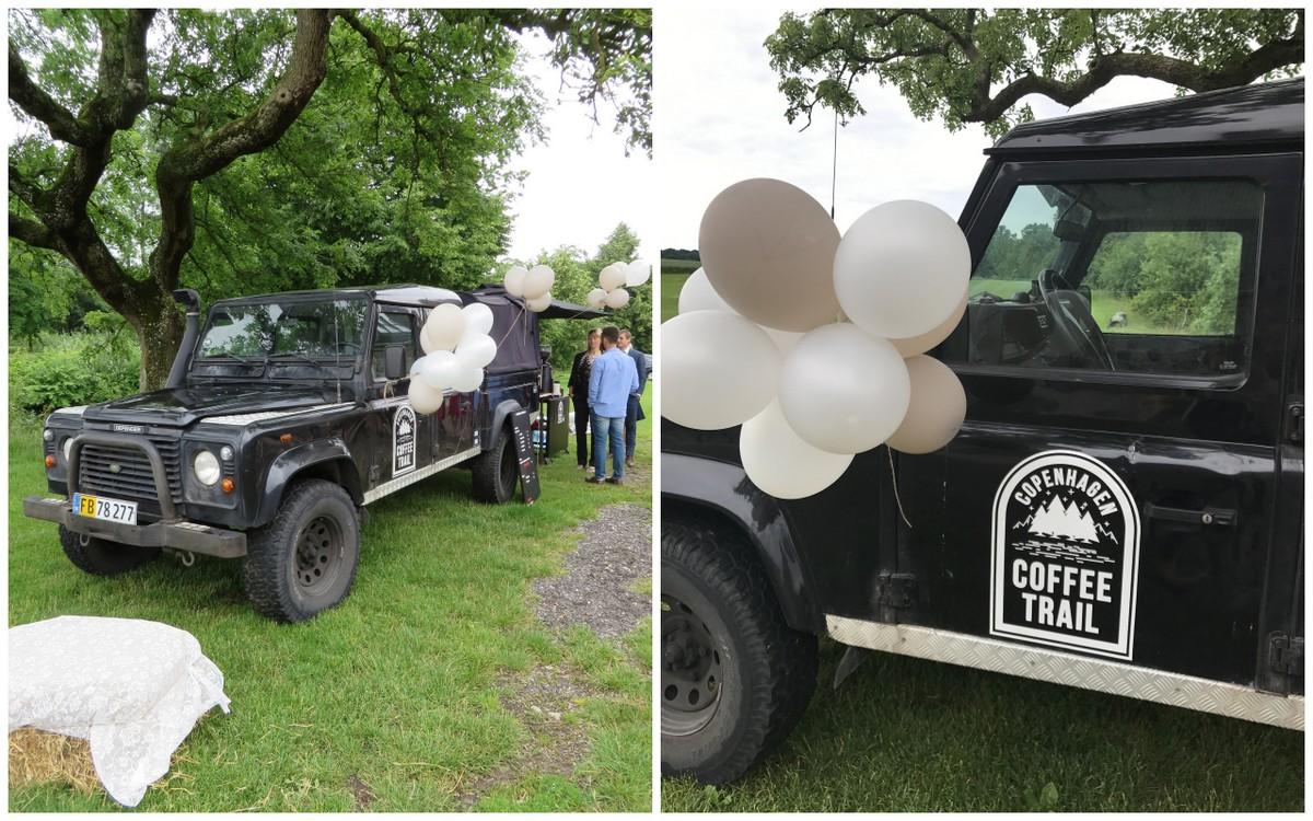 Kaffevogn til bryllup