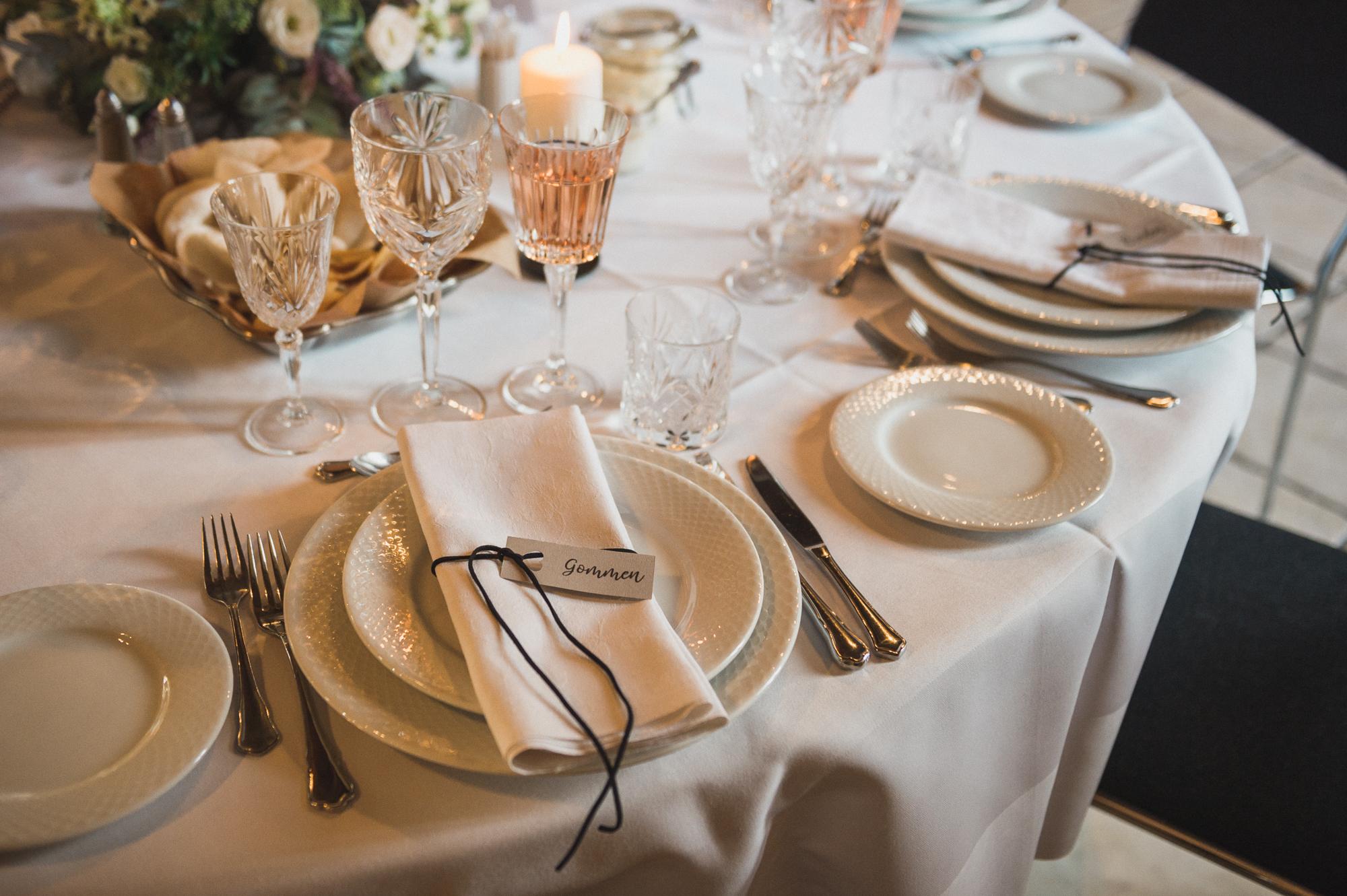 Servietter til bryllup