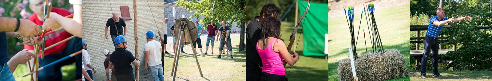 Teambuilding og aktiviteter på Sonnerupgaard Gods