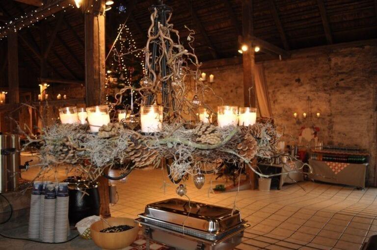 Julearrangement i Laden på Sonnerupgaard Gods