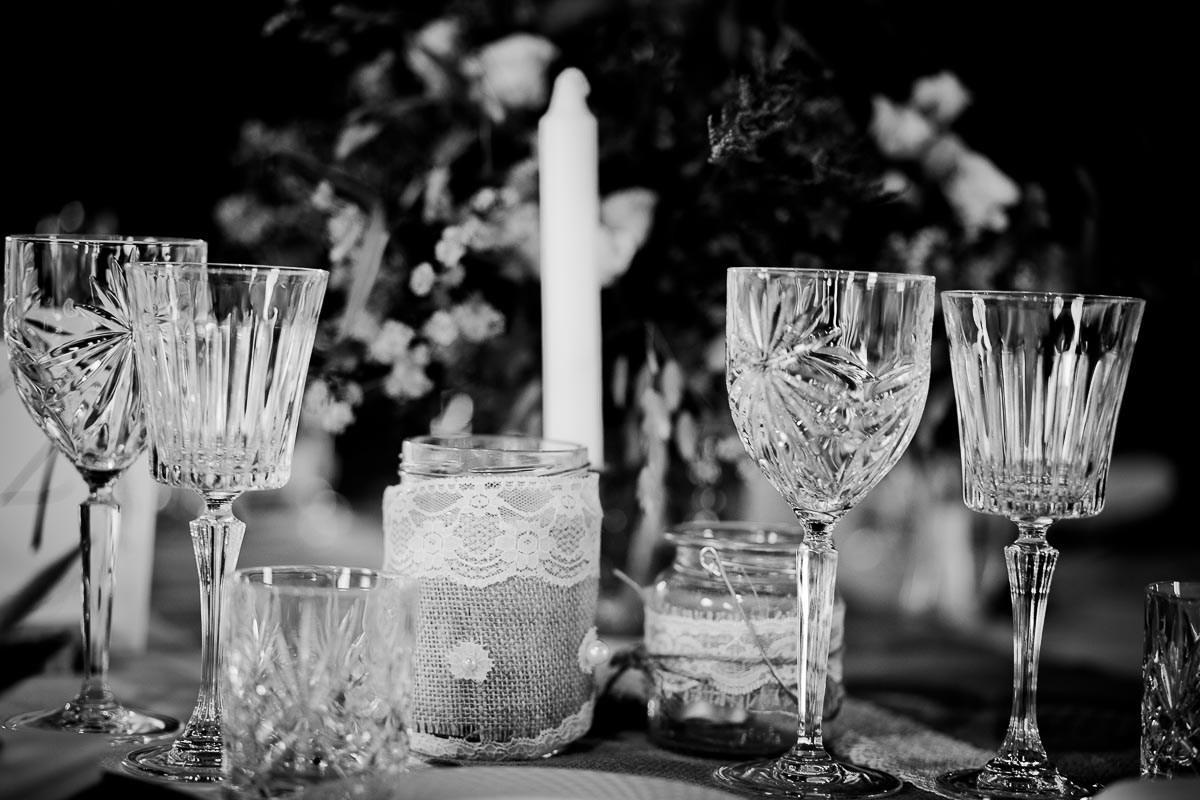 Krystalglas til bryllup