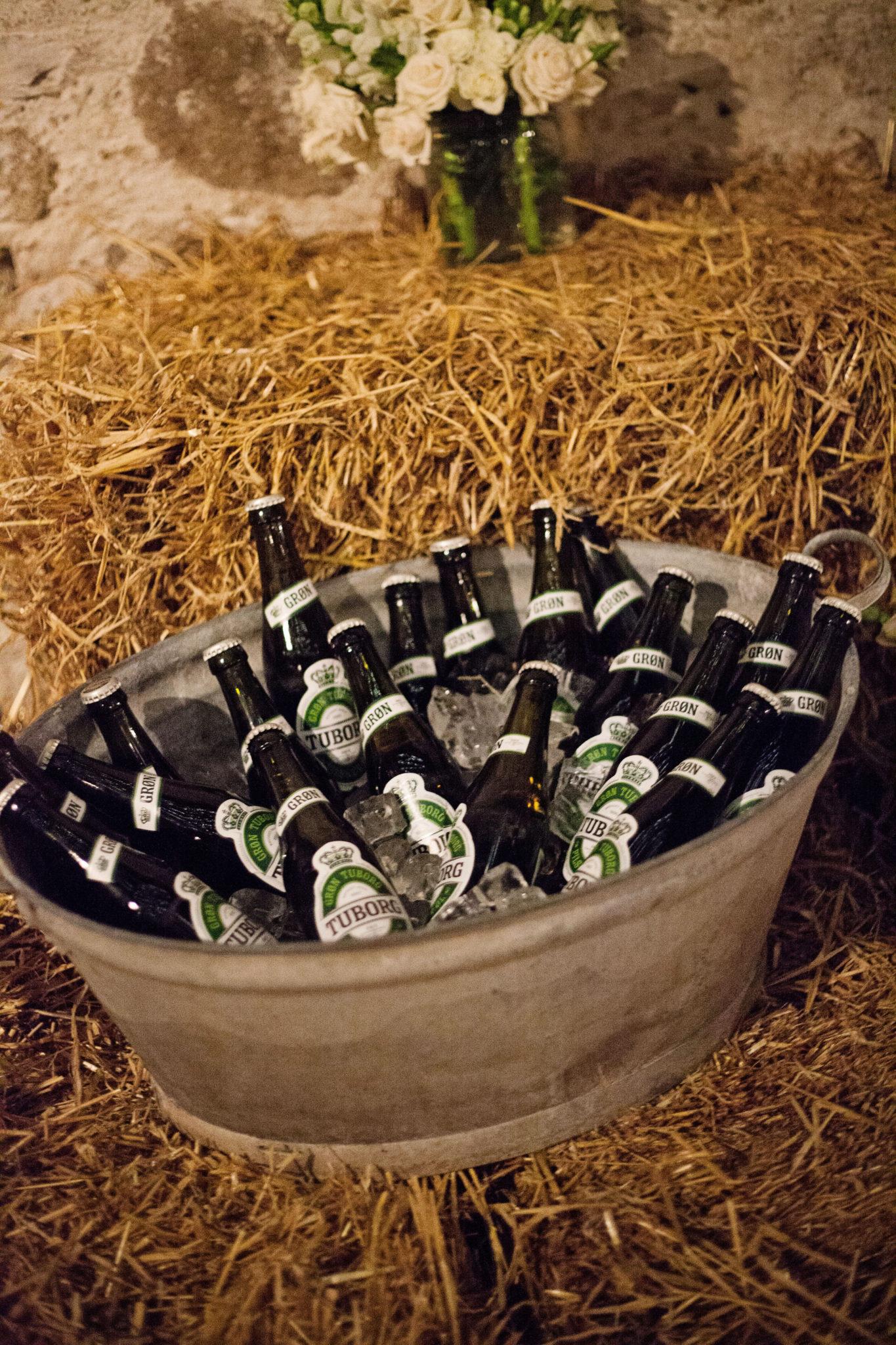 Flaskeøl til bryllup