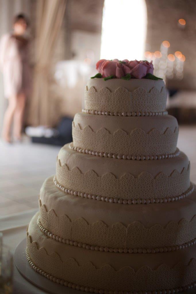 Bryllupskage hvid