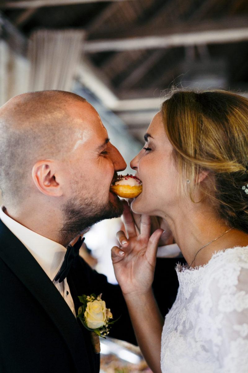 Donuts til brylluppet