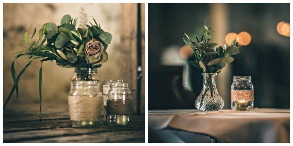 romantiske bryllupsblomster