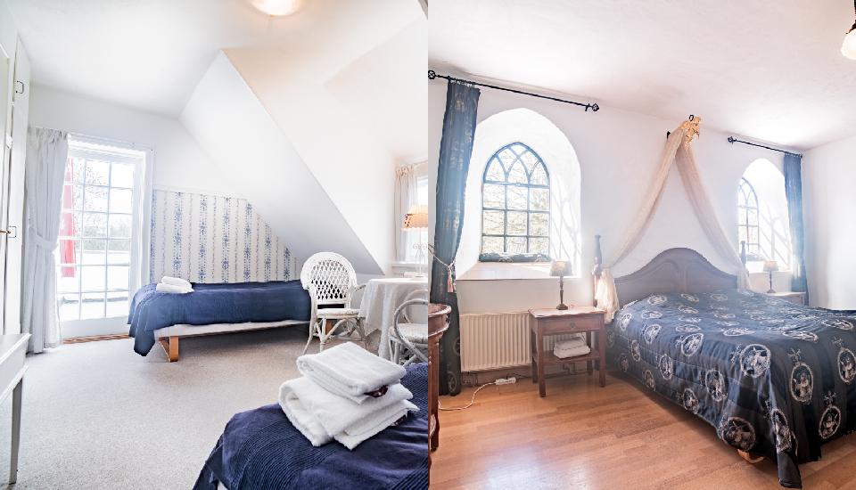 Hotelværelser på Sonnerupgaard Gods