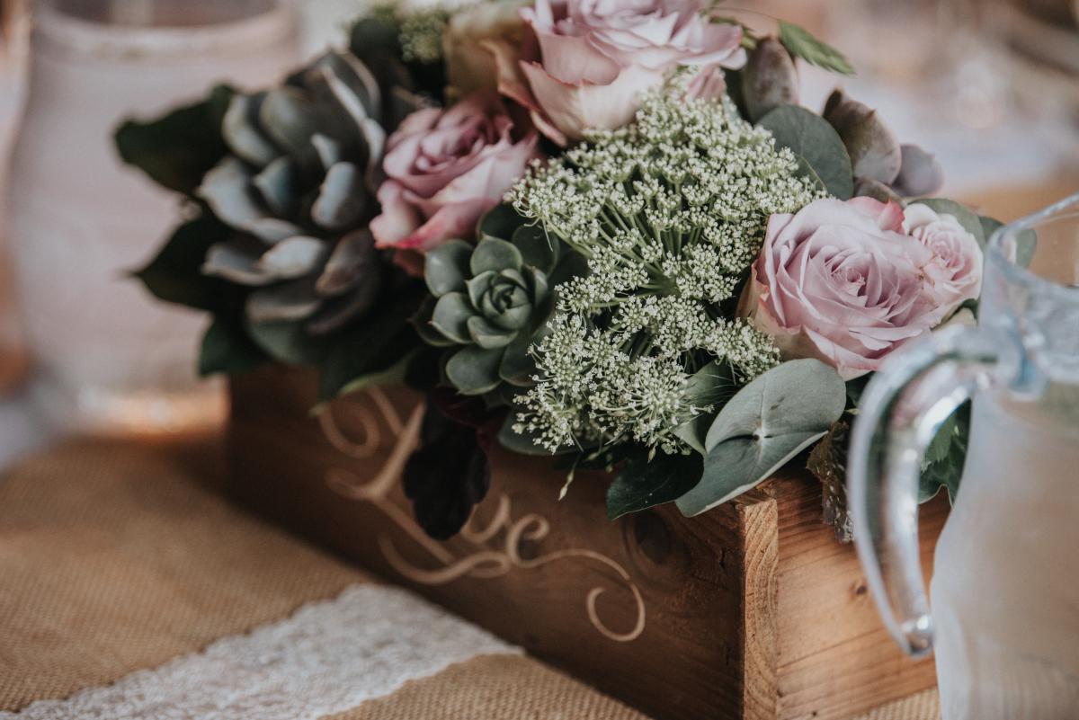 Centerpiece bryllup