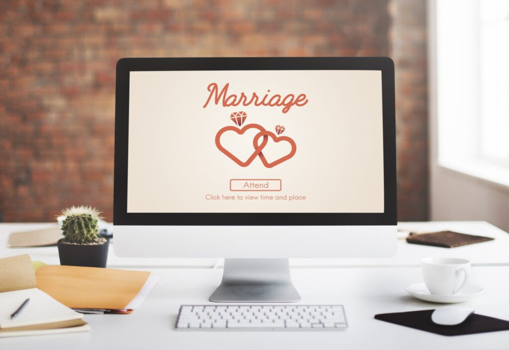 Hjemmeside til eget bryllup