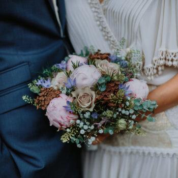 Forårs brudebuket