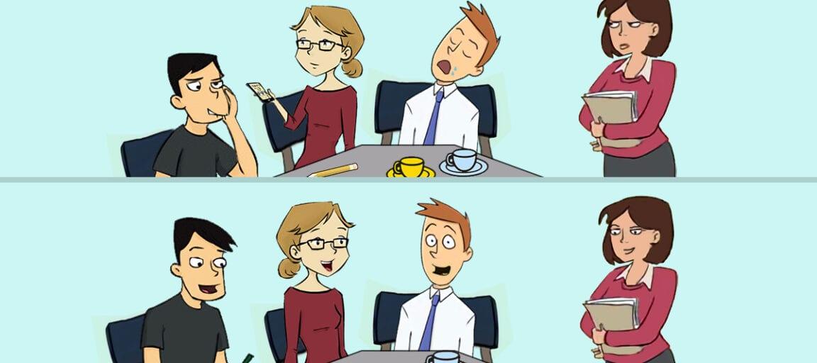 Dårligt møde - godt møde