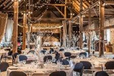 Winter wedding wonderland i Laden