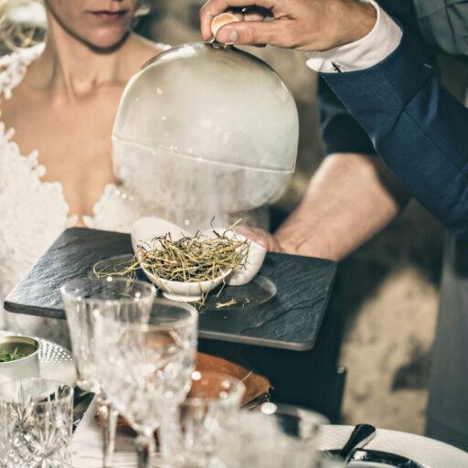 Bryllupsmiddag fra Durlevs Gourmæt til Anders & Amalies bryllup