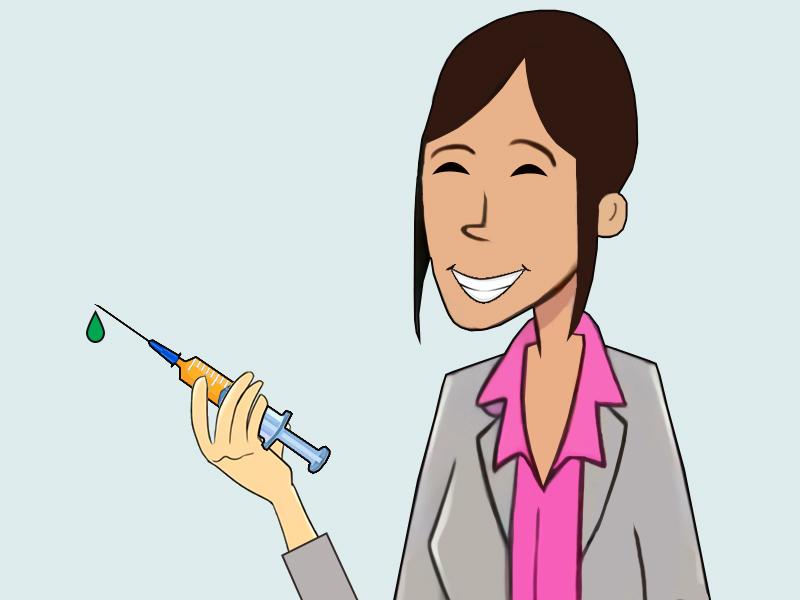Vacciner i præsentationen