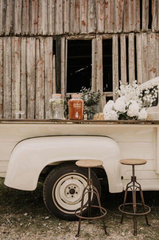 Drinks til bryllup på hjul