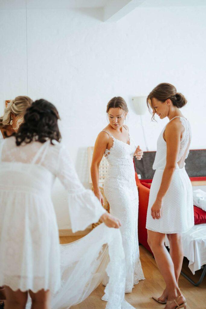 brudekjole brudepiger