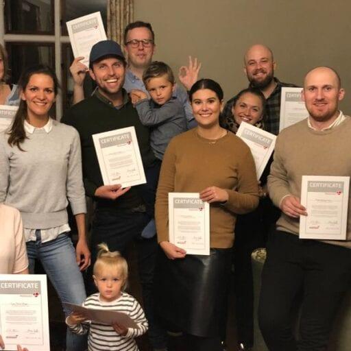 Kolleger på Sonnerupgaard Gods med meetovation certificering