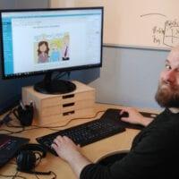 Kristoffer skriver på kursusbloggen