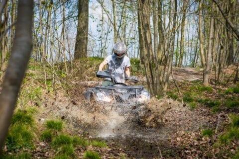 ATV kørsel i nationalpark ved Sonnerupgaard Gods