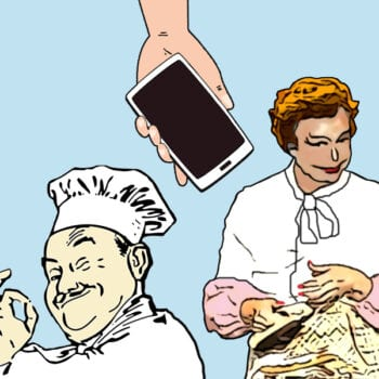Kok, telefon og martin brygmann