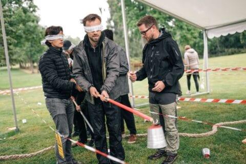 Teambuilding aktivitet med TEAK Gruppen