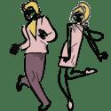 Dansende gæster