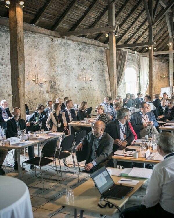 Stemningsbillede fra kursus, møde og konference