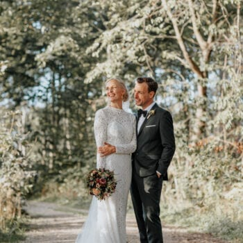 Brudeparret Jeanette & Daniel