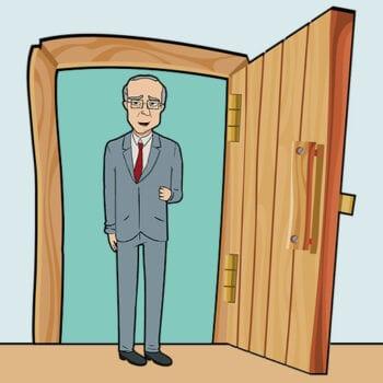 Bestyrelsesformanden sparker døren ind