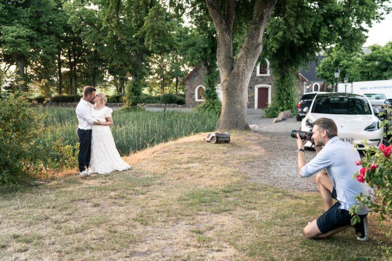Rikke & Thomas får taget bryllupsbilleder