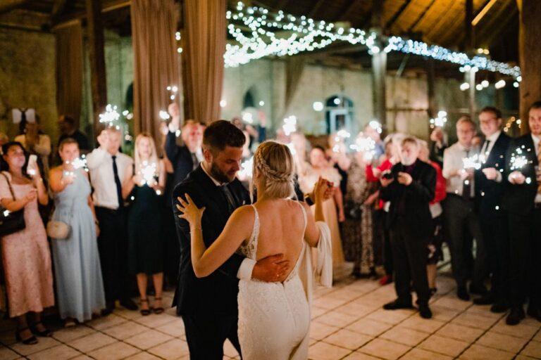 Denise & Christian danser brudevals